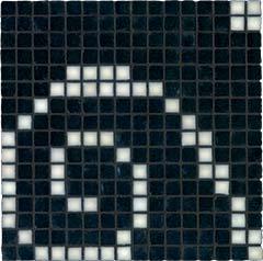 NEUTRA 6.0 Decor A Dark Mosaico Mix** Tessere 07 Carbone Lux, 01 Bianco Lux   30x30cm (1,8x1,8cm)  Rett. hr. 4,5mm