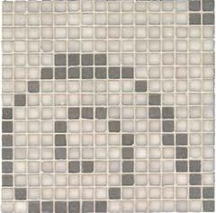 NEUTRA 6.0 Decor A Light Mosaico Mix** Tessere 01 Bianco Lux, 04 Ferro Lux   30x30cm (1,8x1,8cm)  Rett. hr. 4,5mm
